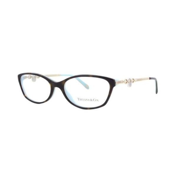 2809ea7b029a Tiffany   Co. Havana Blue Eyeglasses TF 2063 8134.  M 5b805ab2f41452bb1e870843